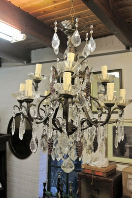 Chandelier, cage type