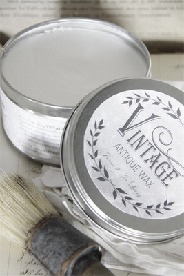 Jeanne d'Arc Living Vintage Wax - Wit