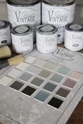Jeanne d'Arc Living Vintage Paint colour chart