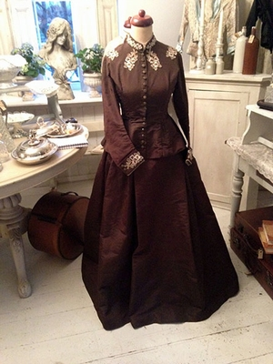 Victorian dress, ca. 1860