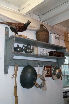 Large wall rack / shelves