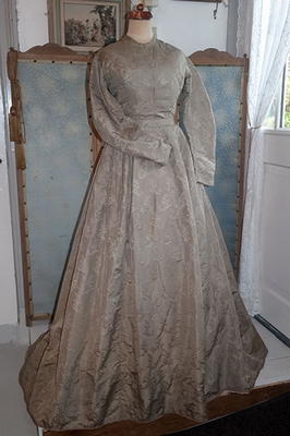 Early silk gown