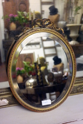Small french mirror