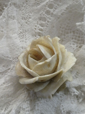 Vintage celluloid broche