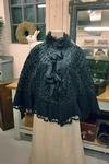 Victoriaanse zijden cape