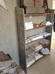 Large open shelves