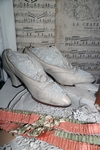 Edwardian wedding shoes