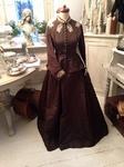 Victoriaanse jurk, ca. 1860