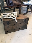 Wooden transport crate