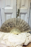 Silk and lace fan