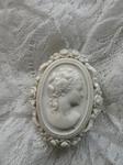 Vintage celluloid brooch
