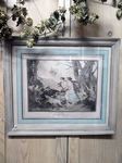 French engraving, framed