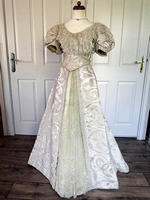Victorian evening gown
